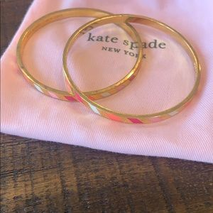Kate Spade Three Cheers Bangle Bracelet